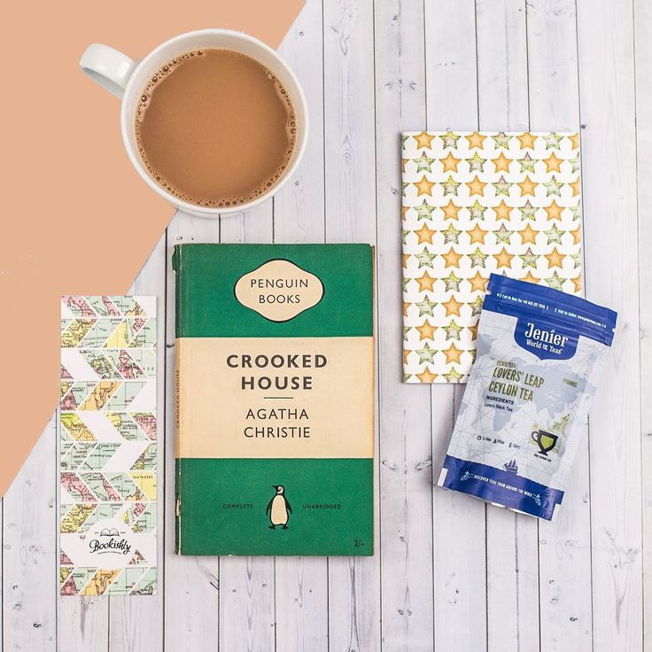 Tea and Book Club Gift Subscription. Vintage books, delicious tea, and stationery. Perfect!
