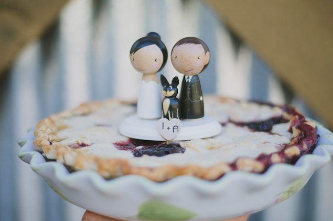 Denim Inspired Wedding: Ivy + Alex