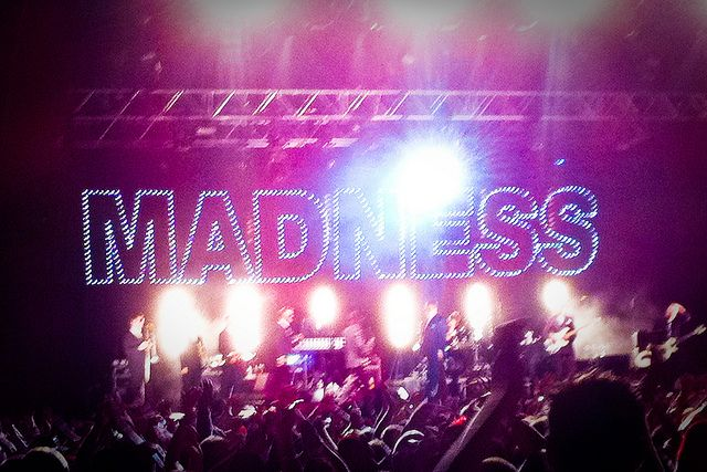 Madness at Sound Island Festival @ Quex Park in Birchington on 24 July 2010