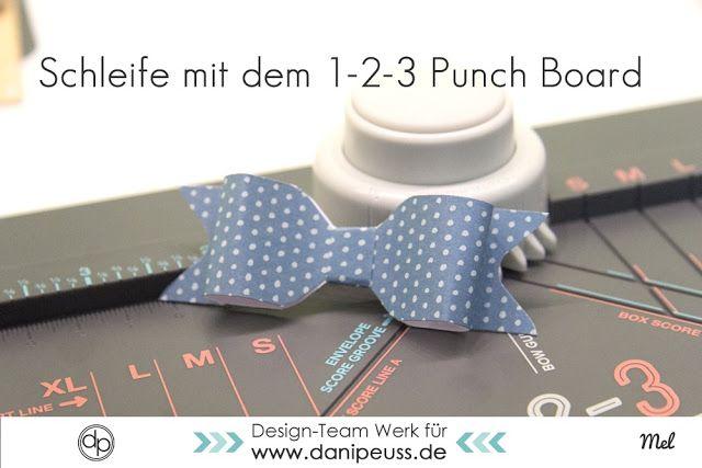 schleifen briefumschl ge und geschenkboxen selber machen mit dem 1 2 3 punchboard von we r. Black Bedroom Furniture Sets. Home Design Ideas