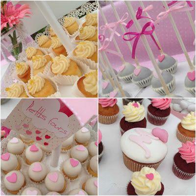 Candy Bar! Δροσερά lemon financiers, σοκολατένια cake pops, αμυγδαλωτά petits fours και mini cupcakes οι γλυκές μας προτάσεις για το candy bar βάπτισης που επιμελήθηκε το Sugar Baby Love !!!