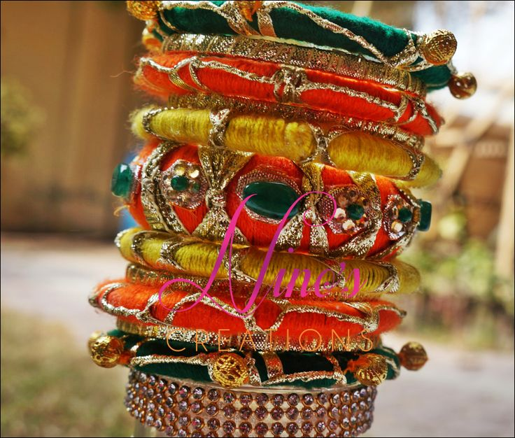 bangles by https://www.facebook.com/pages/Ninos-creations/123853704344831?ref=hl