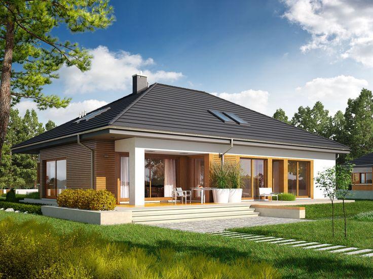 DOM.PL™ - Projekt domu AC Marcel G2 CE - DOM AF2-44 - gotowy projekt domu