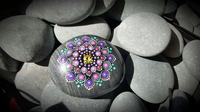 Mandala stone - Disney run Princess