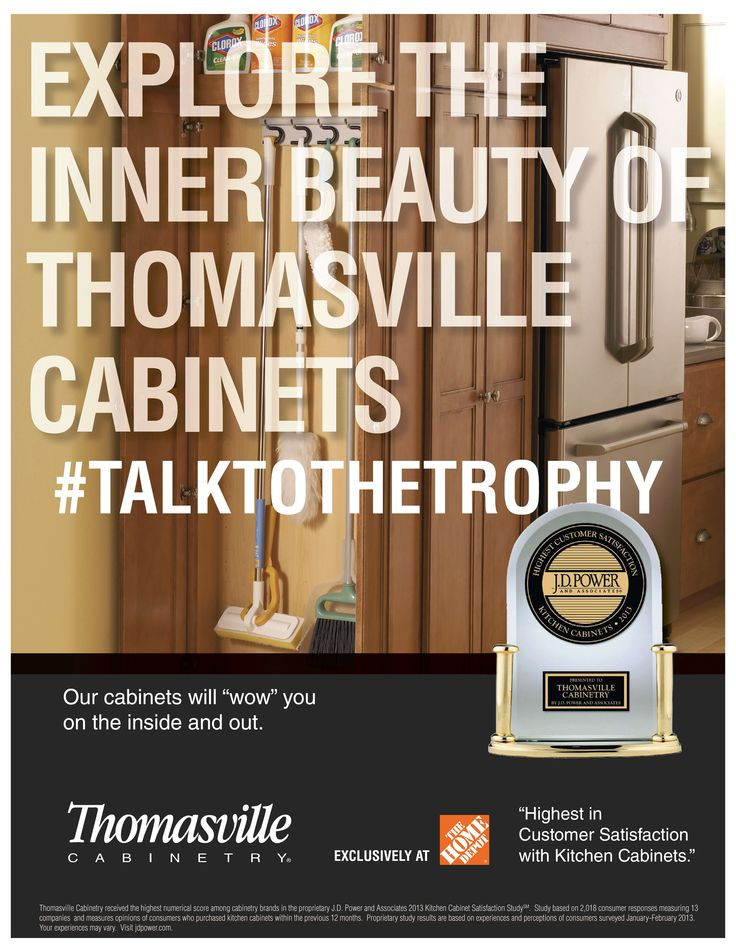 Explore the Inner Beauty of Thomasville Cabinets #TALKTOTHETROPHY #Organization #Performa #Kitchen #Storage #Thomasville #JDPower #MBCI #cabinets #kitchen #remodel #design #winner #MasterBrand #talktothetrophy #modular #semicustomcabinets #dreamkitchen #ThomasvilleCabinets #THD #HomeDepot #exclusive #HighestinCustomerSatisfaction #ThomasvilleCabinetry
