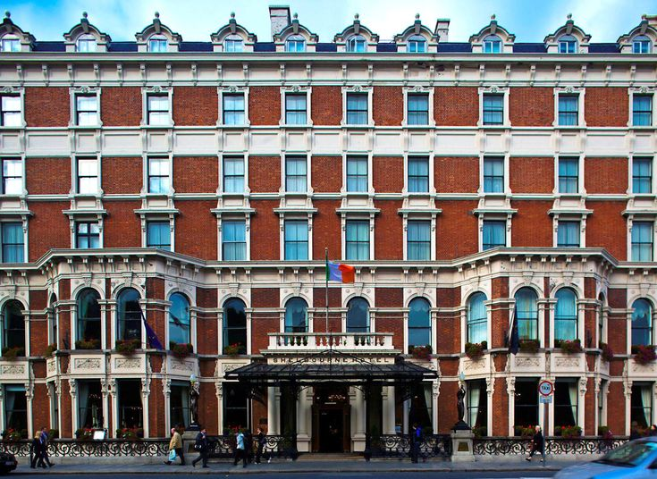 The Shelbourne Dublin, A Renaissance Hotel Dublin, Ireland Exterior Historic Hotels building landmark City Town Architecture plaza Downtown cityscape palace waterway town square tower block skyscraper
