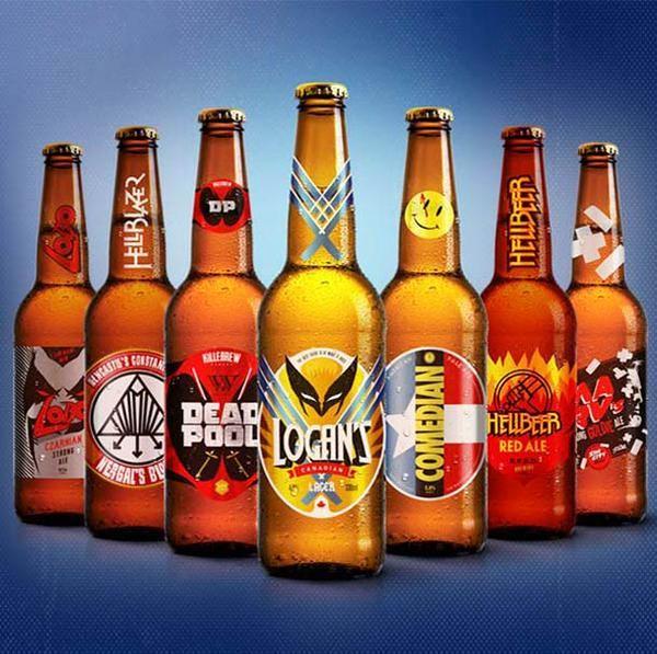 marvel beer - Google Search