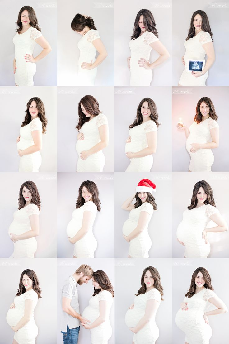 Pregnancy progression I like this but sean will be in all of them with us
