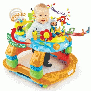 Activity Centre Melody Garden 3-in-1  Andador  Balanço