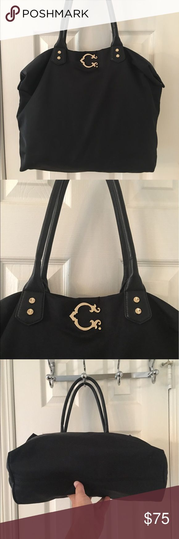🛍 C. Wonder Black Nylon Tote Bag Good condition.  Nylon bag. C. Wonder Bags Totes