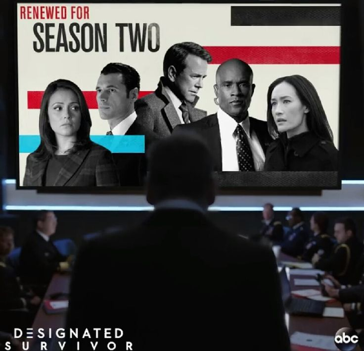 There's more work to be done. Designated Survivor is returning for Season 2! 💙