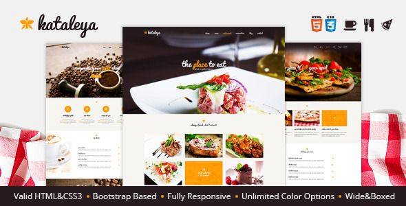Kataleya - Restaurant Pizza Coffee HTML Template   http://themeforest.net/item/kataleya-restaurant-pizza-coffee-html-template/8196399?ref=damiamio         	 3 restaurant types Kataleya is not overbloated all purpose template. We built it with restaurant, pizza and coffee shop owners in mind. A clean tasty design template perfect for your business.  	 More than one blog style We went and design 3 blog styles different column options, so you can have more freedom to present your work.  	 3…