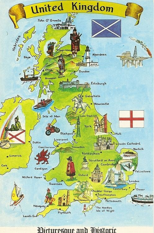 United Kingdom Illustrated Map I pinned this map because I thought that history is good idea of theme for this assignment but for Belfast map it wouldn't have any sense because if I will make a map of Belfast history then I should make a amp of whole British islands.
