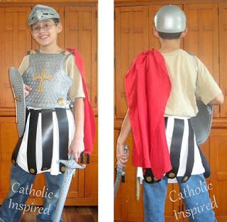 St. Martin of Tours costume for All Saints' Day