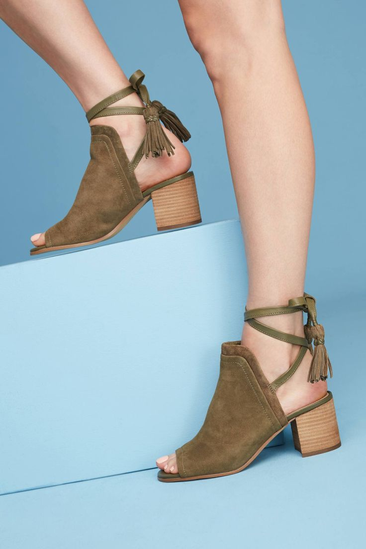 at Anthropologie -  Shooties in moss