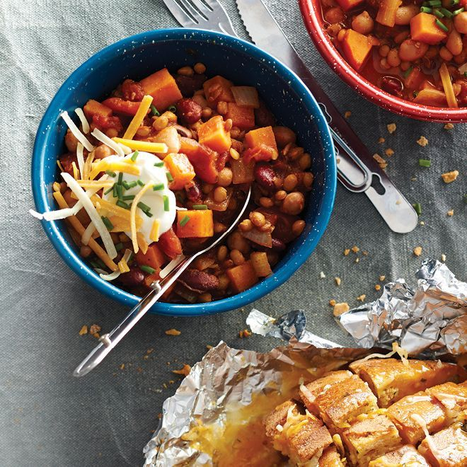 Make-Ahead Lentil Chili
