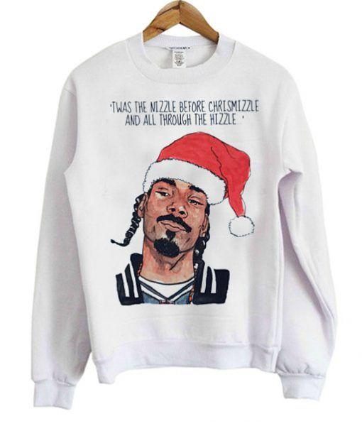 Snoop Dogg Christmas Sweatshirt In 2019 Sweatshirt Sweatshirts