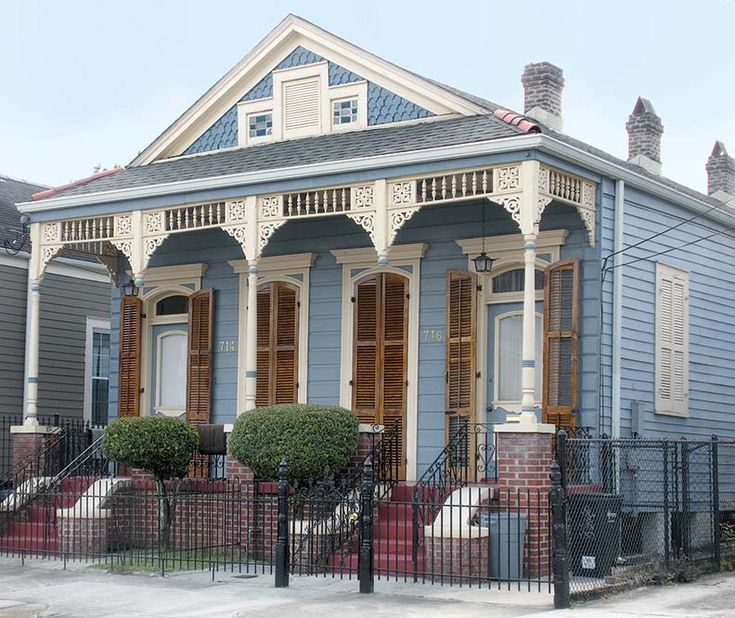 Architecture culture in new orleans 39 faubourg marigny for House plans louisiana architects