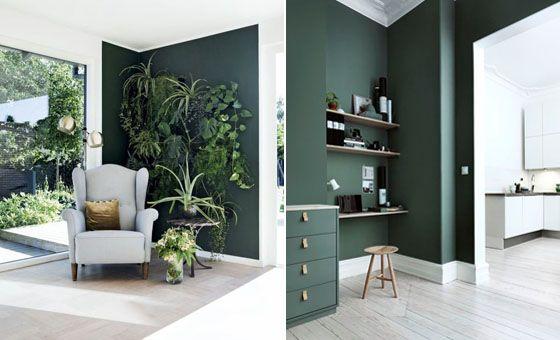 TREND. Donkergroen in het interieur - Gazet van Antwerpen: http://www.gva.be/cnt/dmf20161013_02516945/trend-donkergroen-in-het-interieur