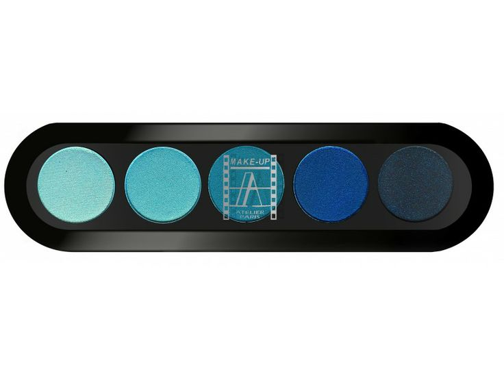 Make-Up Atelier Paris - Paleta 5 cieni