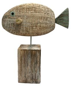 Wooden Fish and Whale | Handcrafted Accessories For The Home