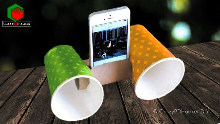 How to make very cheap speakers for mobile at home | DIY Creative Mobile Speaker from Plastic Bottle