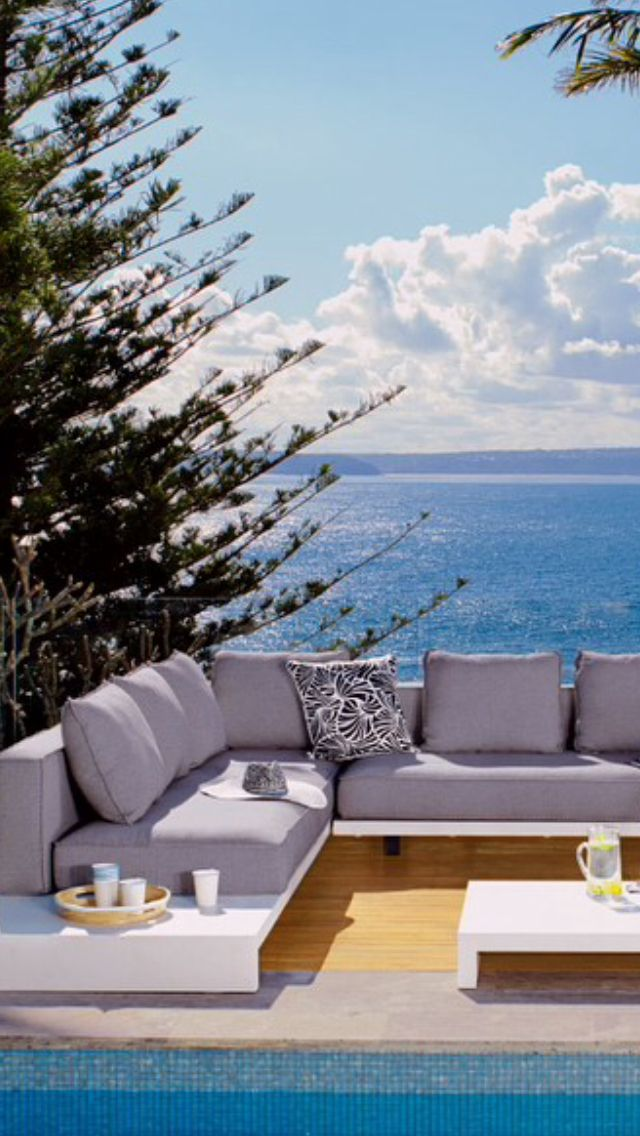 Domayne Platform Outdoor Lounge Outdoor Furniture