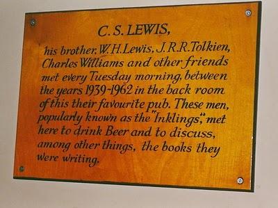 J.R.R. Tolkien  C.S. Lewis et al, a.k.a. The Inklings - The Eagle and Child pub, Oxford