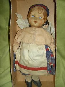 Sweet-vintage-Russian-cloth-tagged-Soviet-Union-stockinette-11-doll-mint-in-box