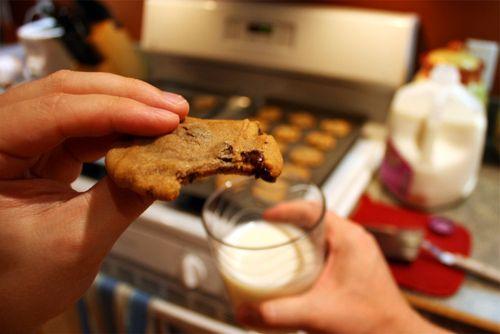 cookies and milkFilthy Food