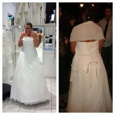 """♥ Hochzeitskleid Pronovias White One """"Teresa"""" Größe 44 ♥  Ansehen: http://www.brautboerse.de/brautkleid-verkaufen/hochzeitskleid-pronovias-white-one-teresa-groesse-44/   #Brautkleider #Hochzeit #Wedding"""