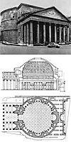 Pantheon, 118-128 (jaa), antiikin Rooma