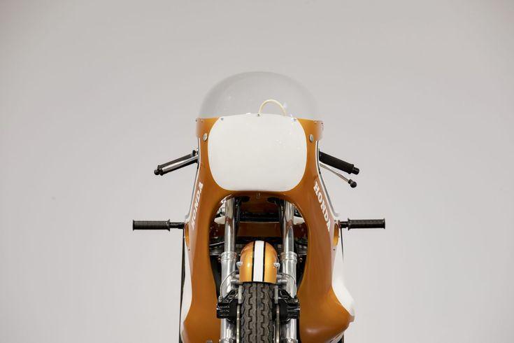 An Incredibly Rare Honda CR750 Factory Racer