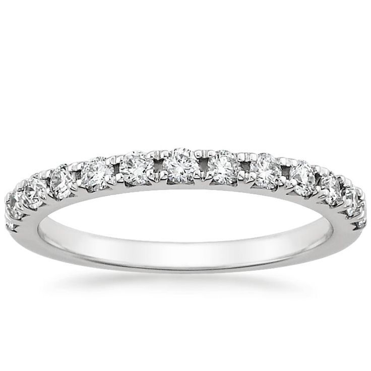 18K White Gold Anthology Diamond Ring from Brilliant Earth