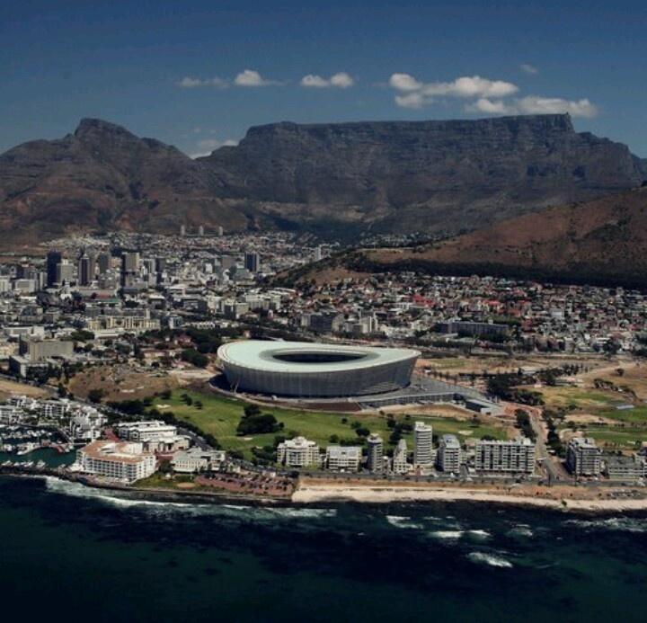 Cape Town Stadium; Ajax Cape Town -- Cape Town.