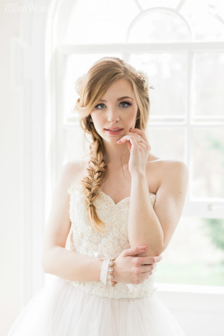 509 best Wedding Hair & Makeup images on Pinterest   Braid hair ...