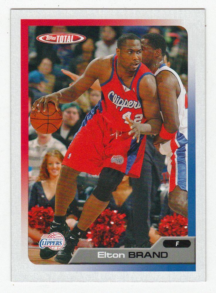 Elton Brand # 164 - 2005-06 Topps Total Basketball