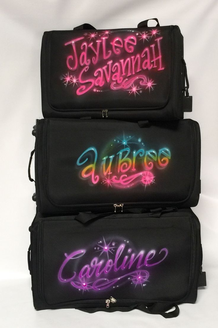 39 Rac Roll Personalized Dance Bags Images Pinterest Airbrushed Large