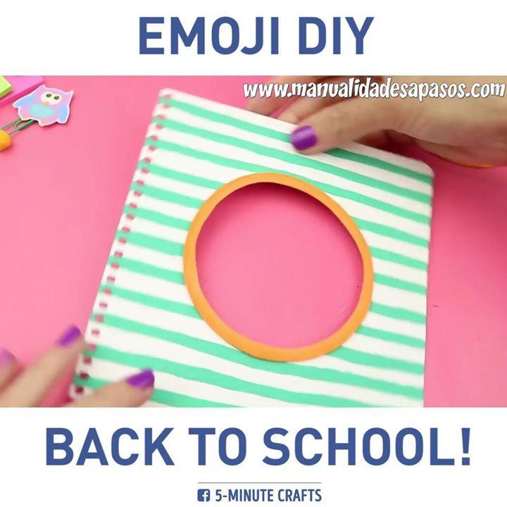 Cool school crafts! via Manualidades aPasos http://youtube.com/manualidadesaPasos