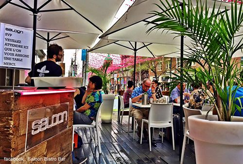 Discover the 5 best terraces at Montreal this summer.