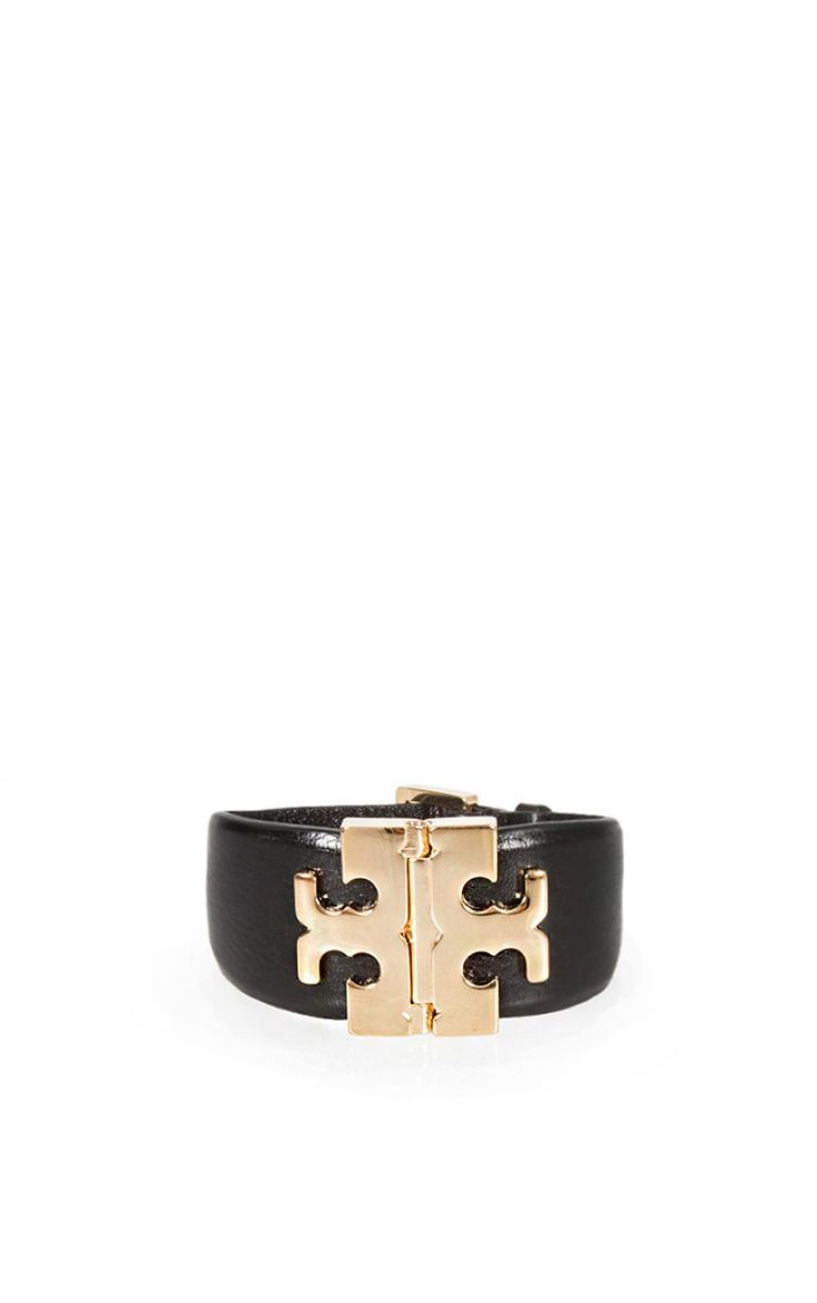 Armband Wide T-hinge BLACK/GOLD - perfect details ss15 - Raglady