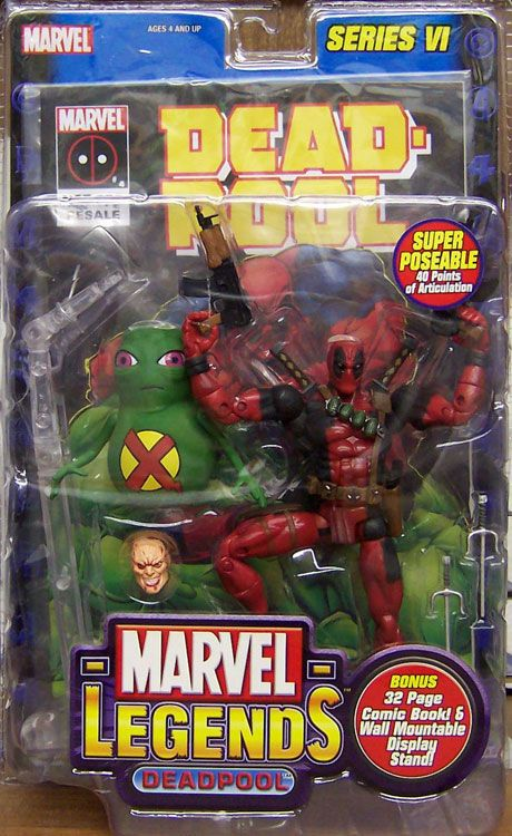 Marvel Legends Deadpool - 2004 Toy Biz Marvel Legends