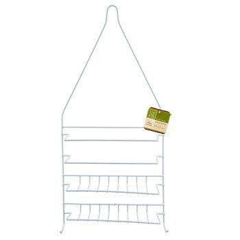 Home Collection Wire Shower Caddy with Plastic Coating