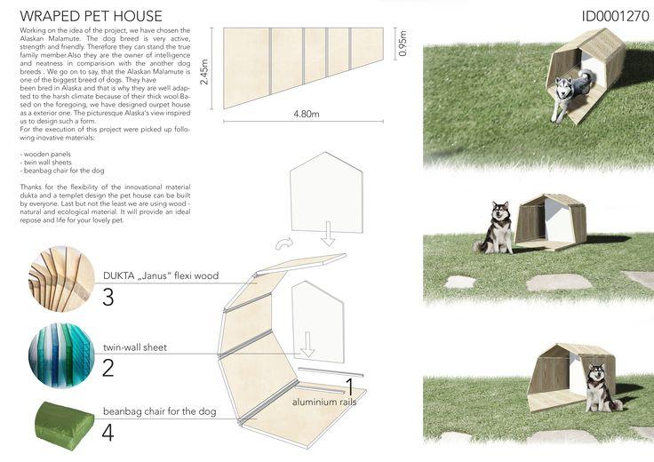 // a house for my dog // 2nd PLACE - Team: Aziz Salamov, Iwan Schroder, Valeriya Sidorenko City: Cologne Country: Germany