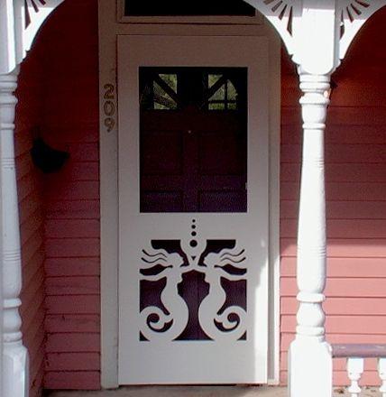 Mermaid Screen Door Screen Doors Pinterest Doors