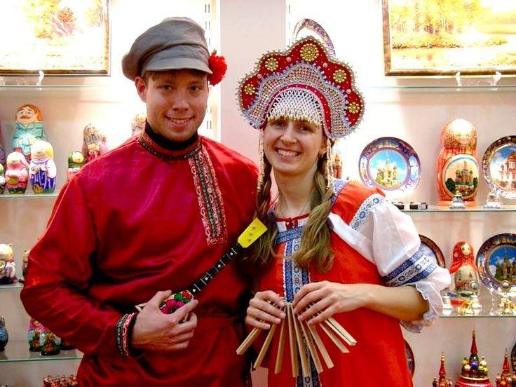 Русский этнический костюм фото