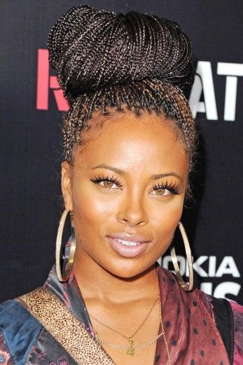 guess those instagram nails eva marcille bombshells and braids
