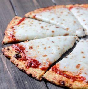 Glutenfreie Low Carb Pizzateig