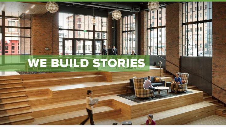 Ryan Companies website--stair design