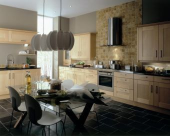 Perfect kitchen for people who are after the farmhouse look but with a mix of contemporary